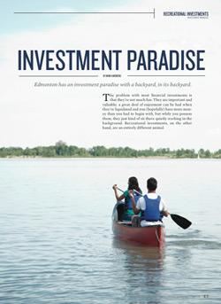 Edmonton Lake Property Investment